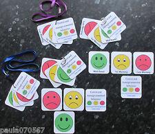 Comunicación ~ advertencia Tarjetas Flash, fomentar una buena conducta ~ autismo ~ sen ~ £ 2.49