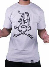 Dissizit! Mens English D Gun Show Heather Grey T-Shirt T-Shirt