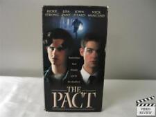 The Pact VHS Rider Strong, Lisa Zane, John Heard, Nick Mancuso; Rodney Gibbons