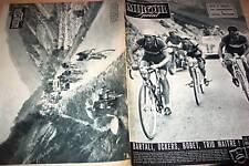 MIROIR SPRINT 1950 TOUR DE FRANCE : PAU- ST. GAUDENS