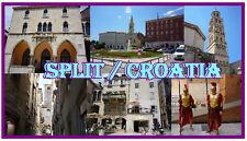 CROATIA (SPLIT) - JUMBO FRIDGE MAGNET -  BRAND NEW