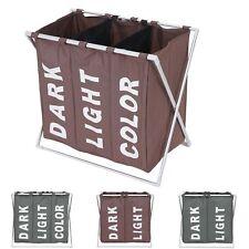 Wäschesammler HWC-C36, Laundry Wäschesortierer Wäschekorb, 127l oder 135l