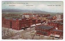 Named Buildings Colorado Springs CO 1911 postcard