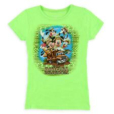 Disney Store Mickey Mouse Animal Kingdom Short Sleeve T Shirt Girl Size S 6