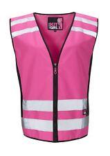 Work Kit Girl Womens - See Me Hi Vis Pink Waistcoat/Vest - Pink
