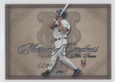 2005 Fleer Showcase Measure of Greatness #2MG Mike Piazza New York Mets Card