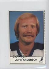 1983-84 ESSO Hockey Stars TV Cash Game No Tab #JOAN John Anderson Card
