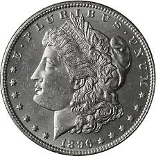 1896 -O Morgan Silver Dollar BU