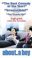 About a Boy Hugh Grant Rachel Weisz Nicholas Hoult VHS