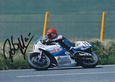 Rob McElnea Suzuki Signed Photo 5x7 1.