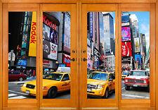 Stickers window trunk the eye New York ref 2546 ( 10 dimensions )