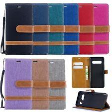 Handy Hülle Case #M41 Jeans zu SAMSUNG GALAXY S10 S10+ PLUS S10E Schutz Tasche