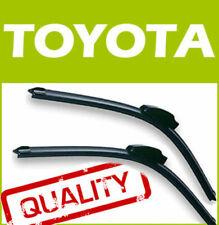 2 X Frontal Aero Stlye Limpiaparabrisas Blades Retro Fit Flat Beam Para Toyota