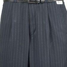 """Steve Harvey SLACK 36"""" Waist  Navy Striped Dress Slack - PP29"""