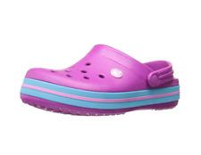 Crocs Unisex Kids' Crocband K Vib Vio Clogs - Purple (Vibrant Violet) -204537