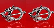 Dragon Nipple Shields Rings (s145)
