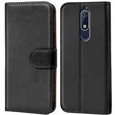 Nokia 5.1 Handy Klapp Tasche Schutz Hülle Book Flip Cover Case Schutzhülle Etui