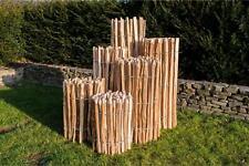 5m Staketenzaun Haselnuss Höhe 50 cm - 120 cm, Lattenabstände 3-5 cm und 7-9 cm