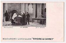 "CPA MACARONI LUCULLUS ""RIVOIRE & CARRET"" - LE BAPTEME - E.Renard"