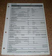 Inspektionsblatt Honda Accord 2.2 iR - ab 1999!