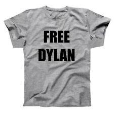 Free Dylan Funny Costume Dicks Party Gray Basic Men's T-Shirt