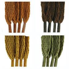Tz de Marque Plat Lacets pour Mode Baskets, Chaussures et Bottes - Marrons