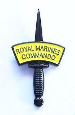 41 COMMANDO ROYAL MARINES DAGGER LAPEL PIN OR WALKING STICK MOUNT