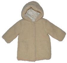 Baby Gap NWT Ivory Sherpa Sheep Faux Fur Jacket Coat 12-18 18-24 Months $88