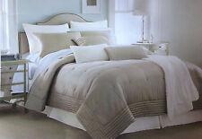 Royal Velvet Hand-Quilted Luxurious Highland Park Silk 3-pc Comforter Set $340