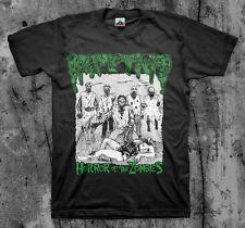 Impetigo 'Horror Of The Zombies' T shirt (Haemorrhage Gore Grind Carcass )