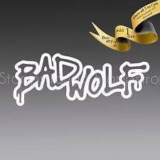 5 Inch BAD WOLF DOCTOR WHO decal sticker vinyl Die Cut Tardis DW DR 204