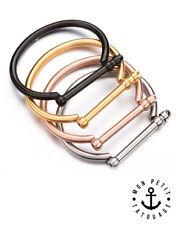 Bracelet Bijou Jonc à Visser Femme Love Or Rose Argent Tendance Vis Cadeau 2017