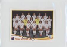 2011 Panini Women's World Cup Album Stickers #122 New Zealand (Team Photo) Card