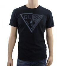 T shirt guess manches courtes Homme M62I40 Noir