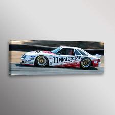 1985 Ford Roush Mustang GT IMSA Automotive Racecar Photo Car Wall Art Canvas