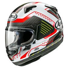 Arai QV Drone Red Motorcycle Motorbike Helmet