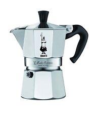 BIALETTI MOKA EXPRESS Caffettiera in Alluminio 1 2 3 4 6 9 tazze caffè casa