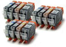CLI8 + PGI5BK - 12 Compatibile Stampante Cartucce Di Inchiostro CL18 / PG15 CLI-8 / PGI-5