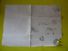 LETTERA 1866 PREFETTURA  PROVINCIA TERRA D'OTRANTO AL SINDACO DI SOGLIANO CAVOUR