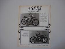 advertising Pubblicità 1972 MOTO ASPES NAVAHO CASA/CROSS - FOX CASA RG