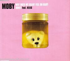 MOBY - Why Does My Heart Feel So Bad?/Honey (ft KELIS) (UK 3 Tk CD Single Pt 1)