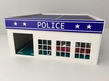 1/64 DIY assembly model Car garage, police garage, hospital garage