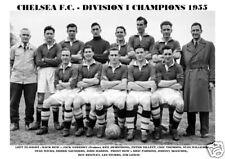 CHELSEA  F.C. TEAM PRINT 1955  (LEAGUE CHAMPIONS)
