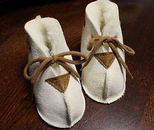 Scarpe neonato, vera pelle agnello, 100% conciata al vegetale, fatto germania