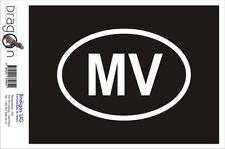 Aufkleber / Autoaufkleber - JDM / Die cut / Auto - Malediven MV - 160x110mm
