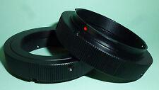 Anillo Adaptador de montaje T/T2 de alta calidad para cámaras DSLR/SLR SONY AF, a estrenar
