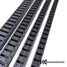 Energiekette H=15mm x 15, 20, 30, 40 mm, Kabelführung Schleppkette, CNC