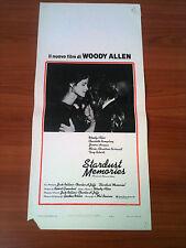 STARDUST MEMORIES locandina poster Woodie Allen Rampling 1980 AF26