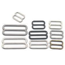 Metal 20 25 38 50mm Widemouth Triglides Slides Ring Buckle Strap Belt Backpack V