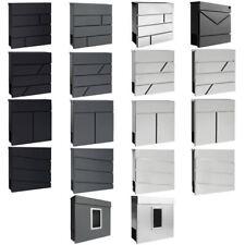 Moderno Cassetta Della Posta Buca Delle Lettere Muro Acciaio Inossidabile V2Aox